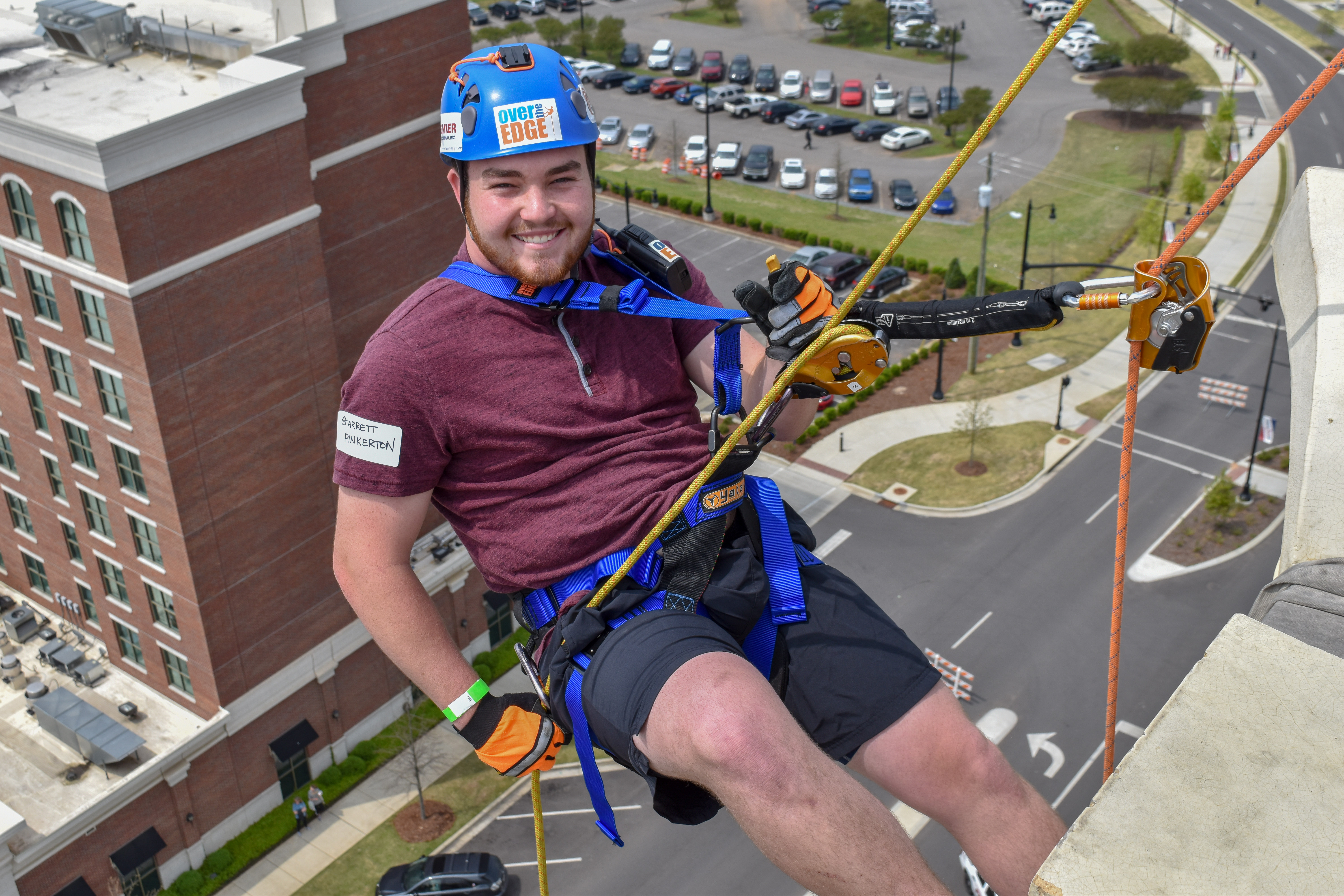 You Can Rappel 140 Feet On April 10th !